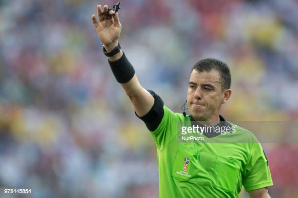 Joel Aguilar during the 2018 FIFA World Cup Russia group F match between Sweden and Korea Republic at Nizhniy Novgorod Stadium on June 18 2018 in...