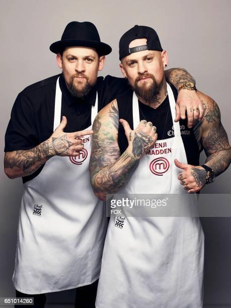 Joel and Benji Madden in the allnew MASTERCHEF CELEBRITY SHOWDOWN airing Monday Jan 2 on FOX