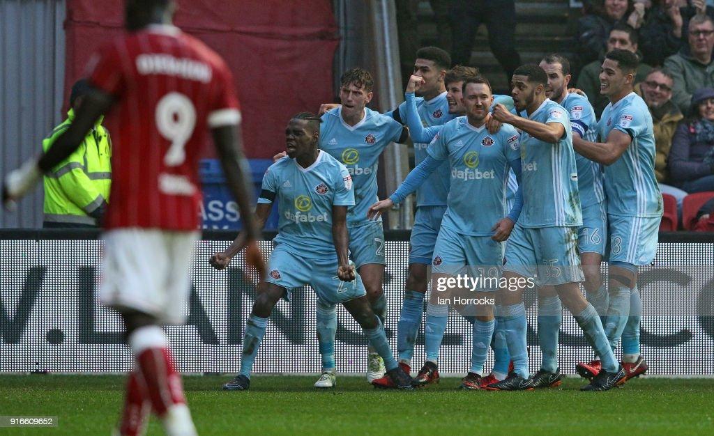 Bristol City v Sunderland - Sky Bet Championship : News Photo