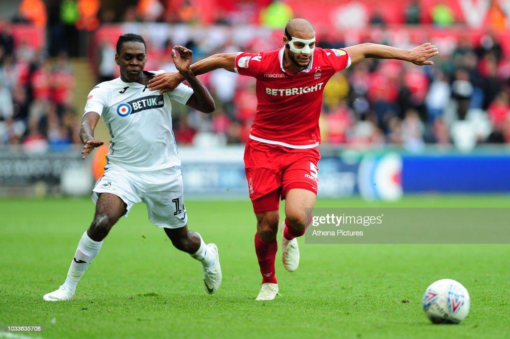 Swansea City v Nottingham Forest - Sky Bet Championship : News Photo