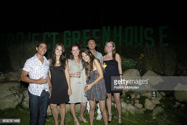 Joel Caceres Lindsay Meyers Corrin Arasa Ryan Urcia Tara Burke and Kristina Ratliff attend PROJECT GREENHOUSE and ADRIAN GRENIER host the Closing...
