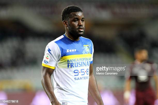 Joel Campbell of Frosinone Calcio during the Serie A football match between Torino Fc and Frosinone Calcio Torino Fc wins 32 over Frosinone Calcio