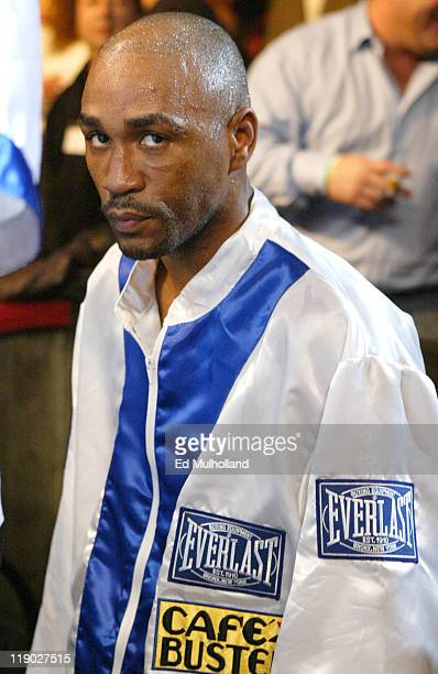 Joel Casamayor enters the ring to face Diego Corrales at Foxwoods Casino Corrales captured the Junior Lightweight title with a 12 round split...