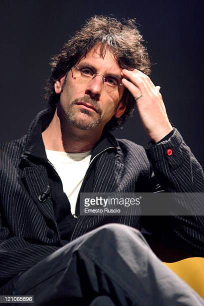 Joel Coen during Viaggio Nel Cinema Americano Press Conference Featuring the Coen Brothers and Frances McDormand November 24 2005 at Auditorium of...
