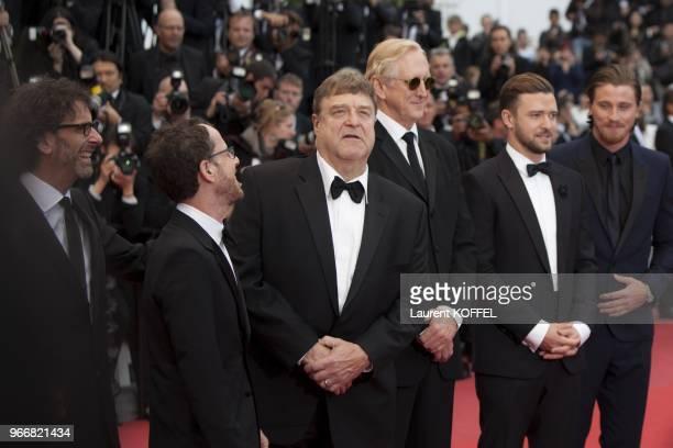 Joel Coen Ethan Coen John GoodmanT Bone Burnett Justin Timberlake and Garrett Hedlund attend 'Inside Llewyn Davis' Premiere during the 66th Annual...