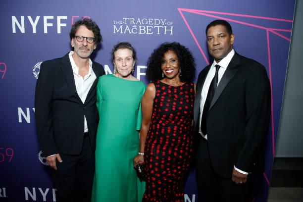 "NY: 59th New York Film Festival Opening Night Screening Of ""The Tragedy Of Macbeth"""