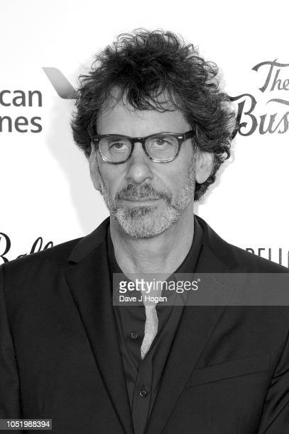 Joel Cohen attends the UK Premiere of 'The Ballad of Buster Scruggs' the American Airlines Gala during the 62nd BFI London Film Festival on at...