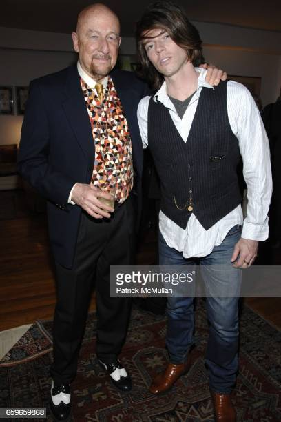 """Joel Conarroe, Michael Scalisi attend Patricia Bosworth and Joel Conarroe host party for BRAD GOOCH'S new book """"FLANNERY: A LIFE OF FLANNERY..."""