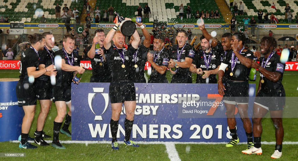 Premiership Rugby 7s Series - Day Two : News Photo