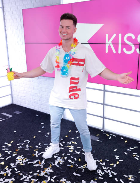 GBR: KISS FM Breakfast Show Hosts Celebrate The Ease Of Lockdown Restrictions