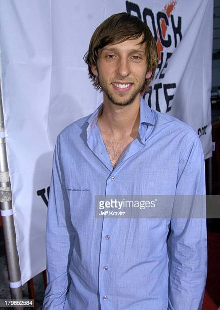 Joel David Moore during Rock The Vote 2004 National Bus Tour Concert June 16 2004 at Avalon in Hollywood California United States