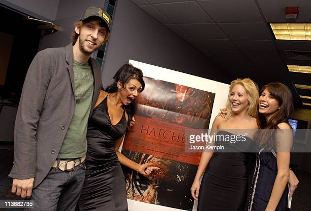 Joel David Moore Joleigh Fioreavanti Mercedes McNabb and Tamara Feldman