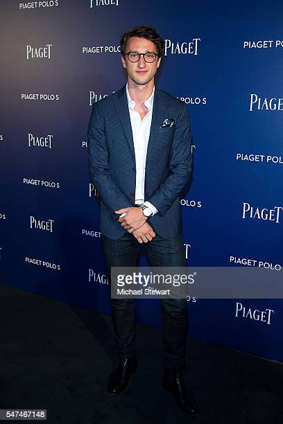 Joel Dicker attends the Piaget new timepiece launch at the Duggal Greenhouse on July 14 2016 in New York City