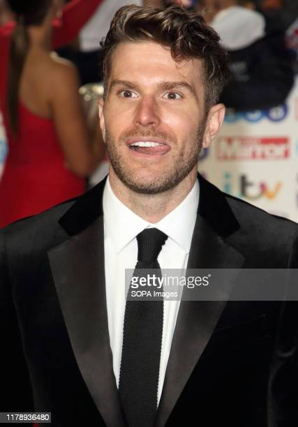 Joel Dommett on the red carpet at The Daily Mirror Pride of Britain Awards in partnership with TSB at the Grosvenor House Hotel Park Lane