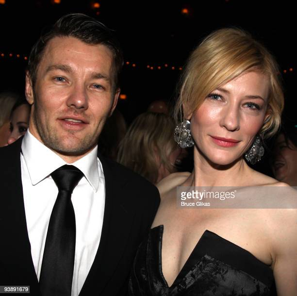 Joel Edgerton and Cate Blanchett attend the opening night celebration for 'Streetcar Named Desire' BAM Belle Reve Gala at the Brooklyn Academy of...