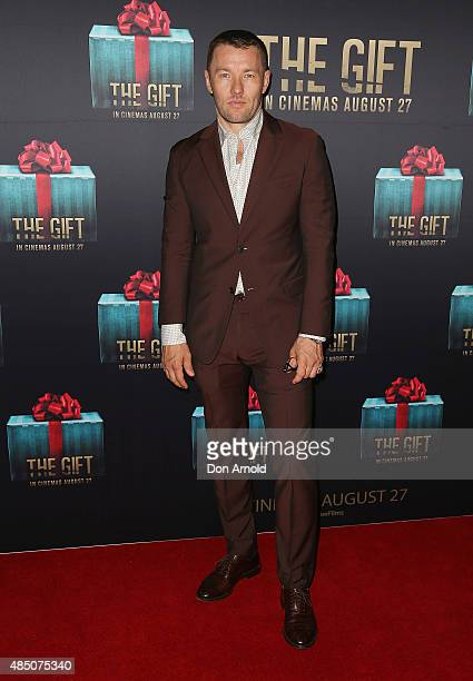 The gift getty images joel edgerton arrives ahead of the gift sydney premiere at event cinemas george street negle Image collections