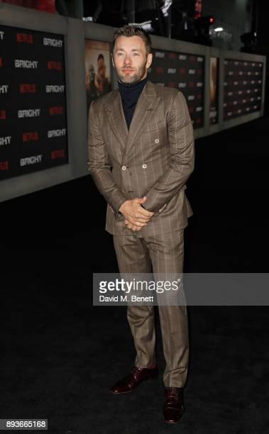 Joel Edgerton attends the European Premeire of 'Bright' held at BFI Southbank on December 15 2017 in London England