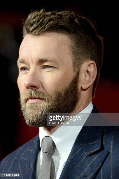 Joel Edgerton attends the European Premiere of 'Red Sparrow' at Vue West End on February 19 2018 in London England