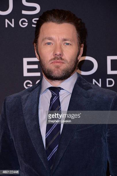 Joel Edgerton attends the 'Exodus Gods And Kings' New York premiere at the Brooklyn Museum on December 7 2014 in New York City