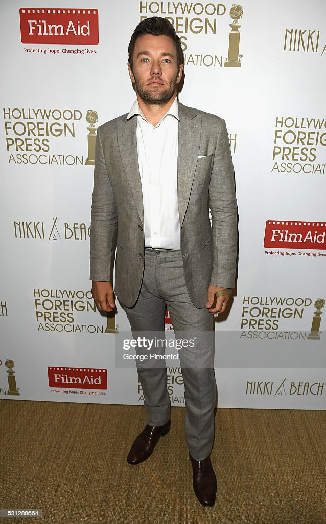 Joel Edgerton attends The Hollywood Foreign Press Association Honour Filmaid International party during The 69th Annual Cannes Film Festival on May 13, 2016 in Cannes, France.