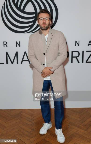 Joel Edgerton attends the International Woolmark Prize 18/19 Final show during London Fashion Week February 2019 at Lindley Hall on February 16 2019...