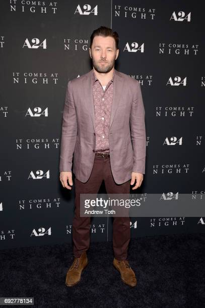 Joel Edgerton attends the 'It Comes At Night' New York premiere at Metrograph on June 5 2017 in New York City