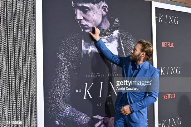 """Joel Edgerton attends """"The King"""" New York Premiere at SVA Theater on October 01, 2019 in New York City."""