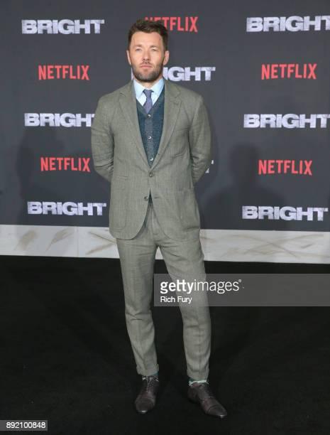 Joel Edgerton attends the LA Premiere of Netflix Films 'BRIGHT' on December 13 2017 in Los Angeles California