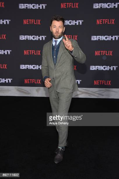 Joel Edgerton attends the premiere of Netflix's 'Bright' at Regency Village Theatre on December 13 2017 in Westwood California