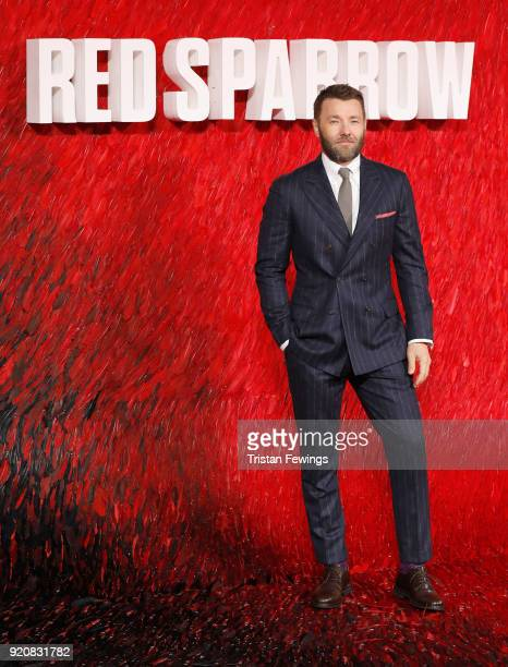 Joel Edgerton attends the 'Red Sparrow' European premiere at the Vue West End on February 19 2018 in London England
