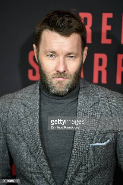 Joel Edgerton attends the 'Red Sparrow' New York Premiere at Alice Tully Hall at Lincoln Center on February 26 2018 in New York City