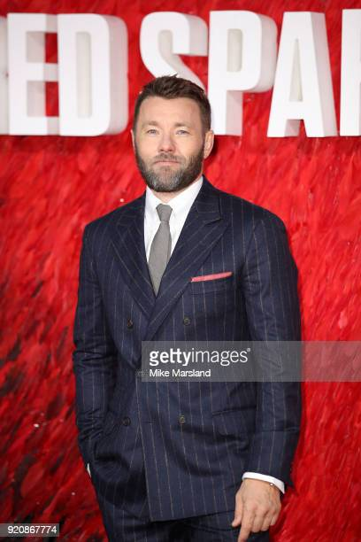 Joel Edgerton attneds the European Premeire of 'Red Sparrow' at Vue West End on February 19 2018 in London England