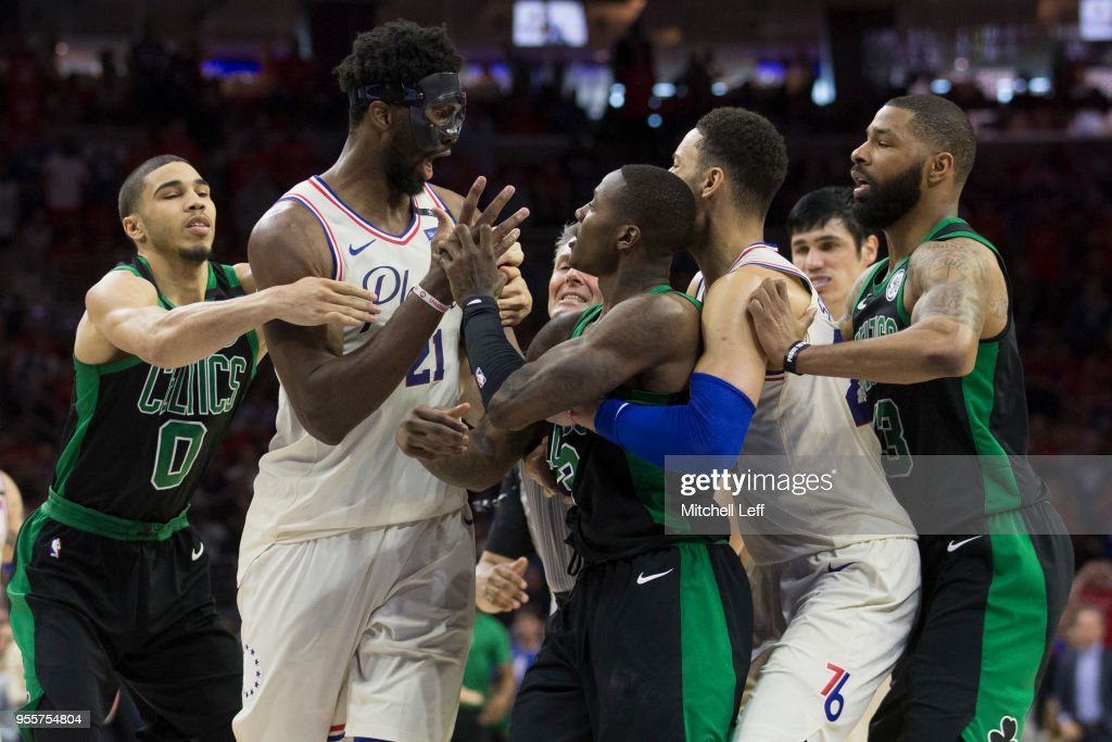 Boston Celtics v Philadelphia 76ers - Game Four : News Photo