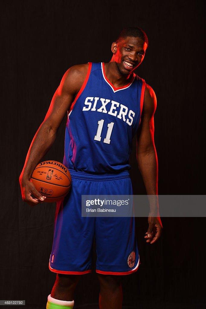 2014 NBA Rookie Photo Shoot : News Photo