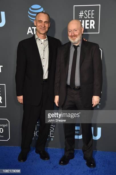 Joel Fields and Joe Weisberg attend the 24th Annual Critics' Choice Awards at Barker Hangar on January 13 2019 in Santa Monica California