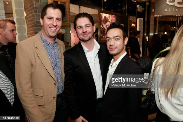 Joel Fischer Deluca Eubanks and Anthony Schrauth attend UGG Australia and VOGUE Celebrate Madison Avenue Opening at UGG Australia on October 28 2010...