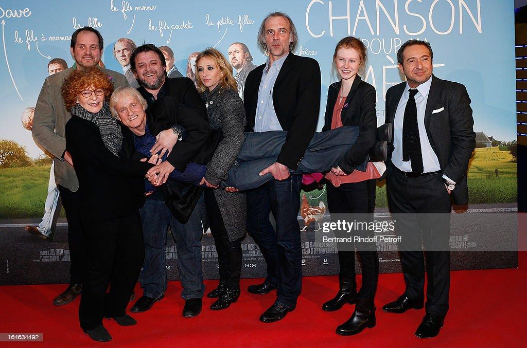 'Une Chanson Pour Ma Mere' Premiere At UGC Les Halles In Paris