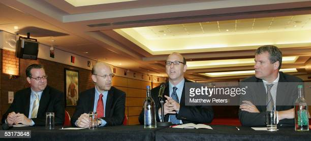 Joel Glazer , son of new Manchester United owner Malcolm Glazer and a new member of the Manchester United board of directors, addresses the club...