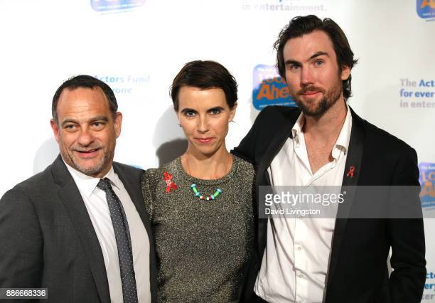 Joel Goldman Naomi Wilding and Tarquin Wilding attend The Actors Fund's 2017 Looking Ahead Awards honoring the youth cast of NBC's This Is Us at...