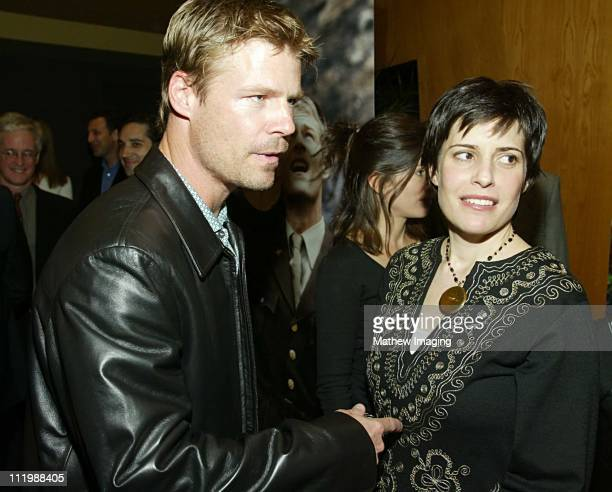 Joel Gretsch and wife during Steven Spielberg Presents Taken Premiere at Writers Guild of America Theatre in Beverly Hills CA United States