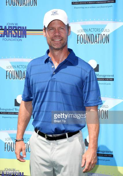 Joel Gretsch attends 2nd annual SAG foundation golf classic at El Caballero Country Club on June 13 2011 in Tarzana California