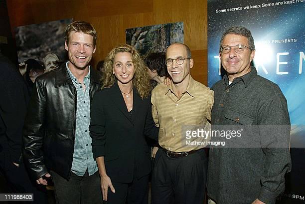 Joel Gretsch Bonnie Hammer Jeffrey Katzenberg and Ron Meyer