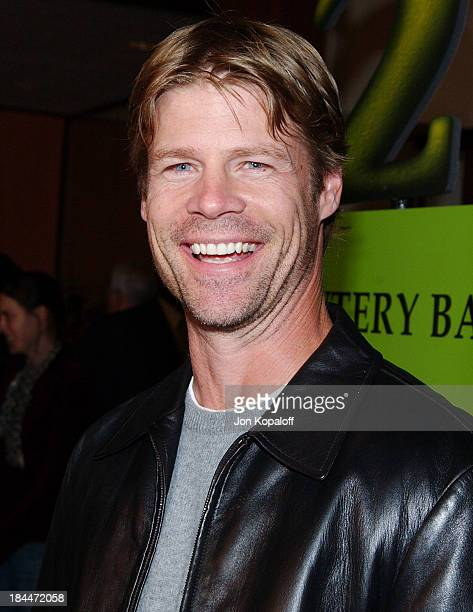 Joel Gretsch during DreamWorks Celebrates The DVD Release of Shrek 2 at Spago in Beverly Hills California United States