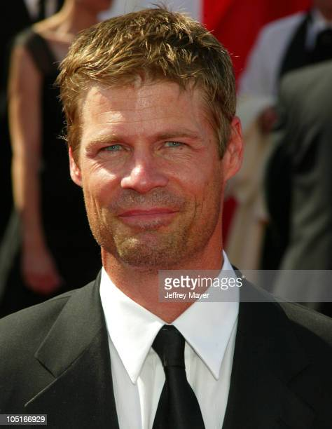 Joel Gretsch during The 55th Annual Primetime Emmy Awards Arrivals at The Shrine Theater in Los Angeles California United States