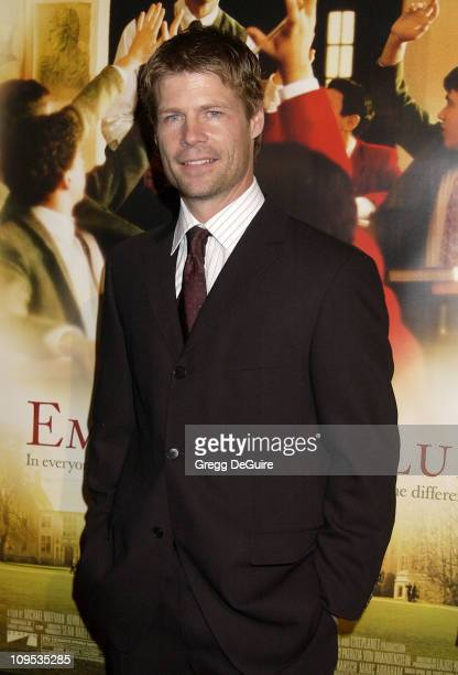 Joel Gretsch during The Emperor's Club Premiere Los Angeles at Academy Theatre in Beverly Hills California United States
