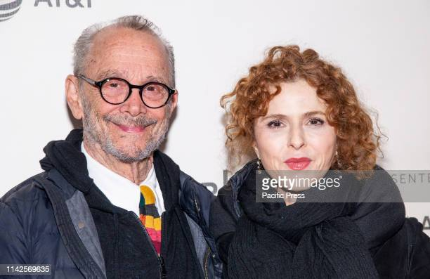 Joel Grey and Bernadette Peters attend screening of It Takes a Lunatic during Tribeca Film Festival at Stella Artois Theatre at BMCC TPAC