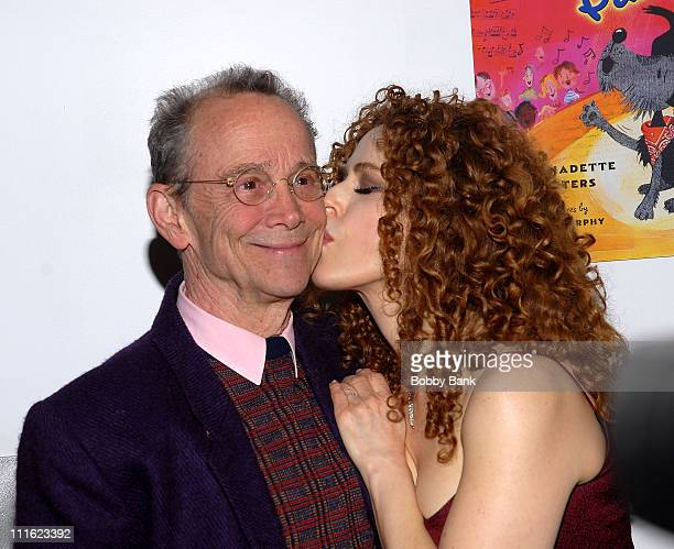 "Joel Grey and Bernadette Peters attend the Bernadette Peters book release party for her book ""Broadway Barks"" at Le Cirque on May 12, 2008 in New..."