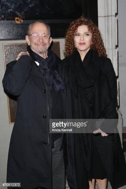 Joel Grey and Bernadette Peters attend The Little Foxes Opening Nightat Samuel J Friedman Theatre on April 19 2017 in New York City