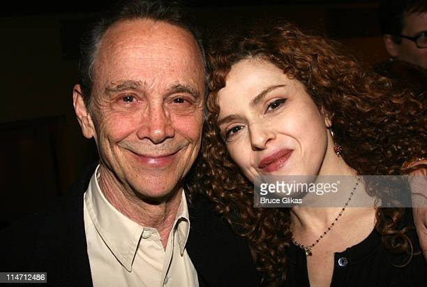 Joel Grey and Bernadette Peters during Encore's presents Stephen Sondheim's Follies Opening Night Gala at City Center in New York City New York...