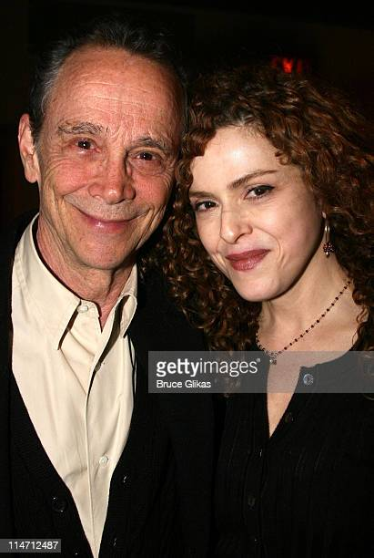 Joel Grey and Bernadette Peters during Encore's presents Stephen Sondheim's 'Follies' Opening Night Gala at City Center in New York City New York...